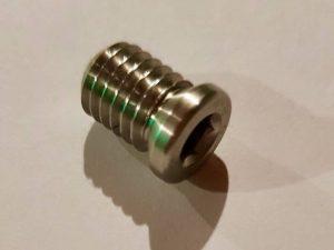 fabricant insert décolleté inox 303, 304L, 316L, laiton